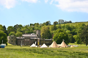 Cornwall festival wedding