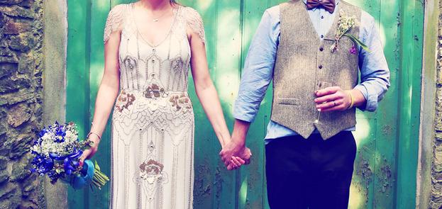 Cornwall festival Wedding