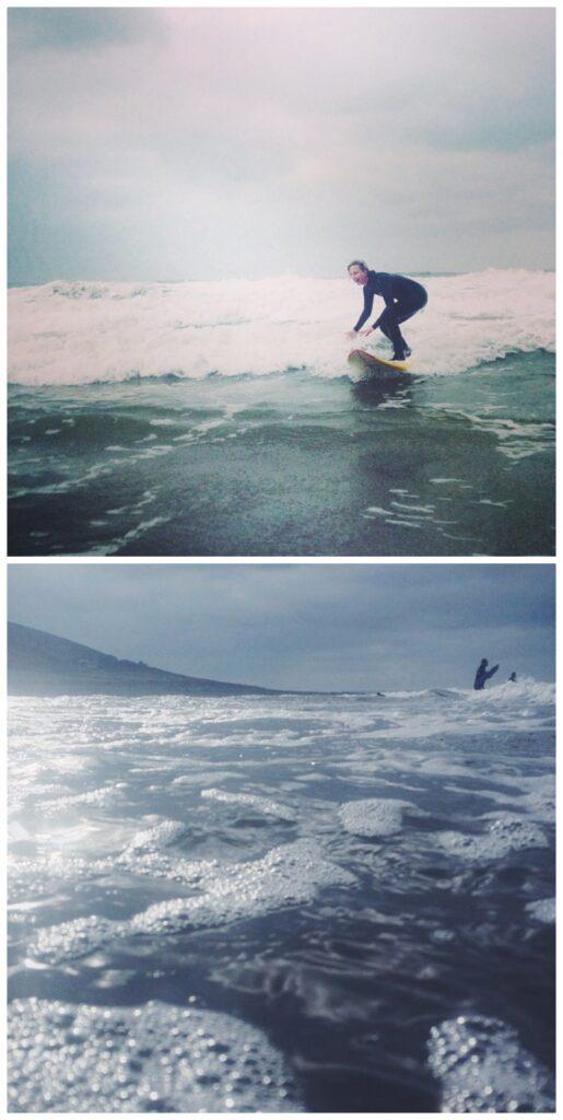 Surfing-North-Devon-Girl