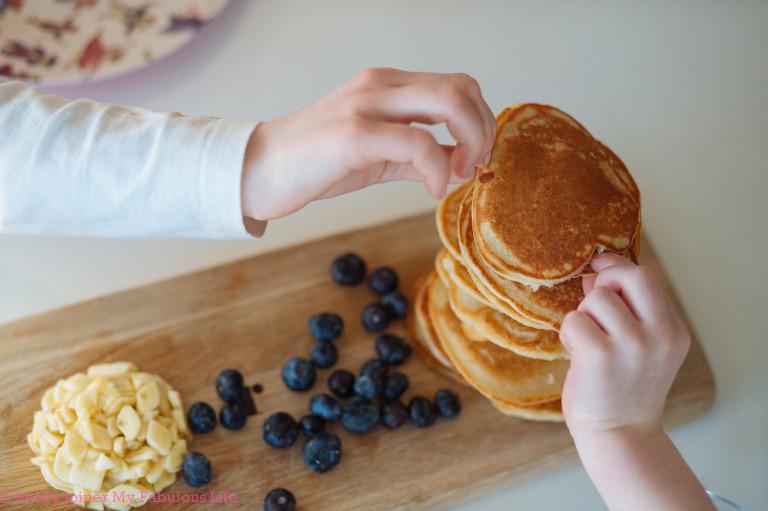 Gluten Free Pancakes | Exeter Food Photographer