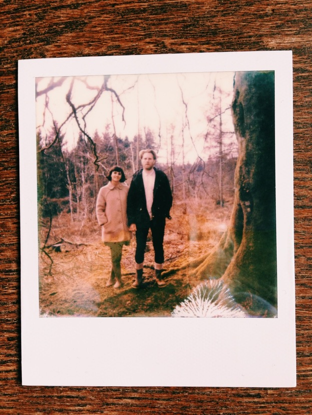 Middle Combe Farm Polaroid Love with Alice and Kev