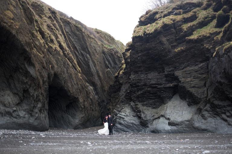 tunnels-beaches wedding alternative gothic Victorian wedding ideas
