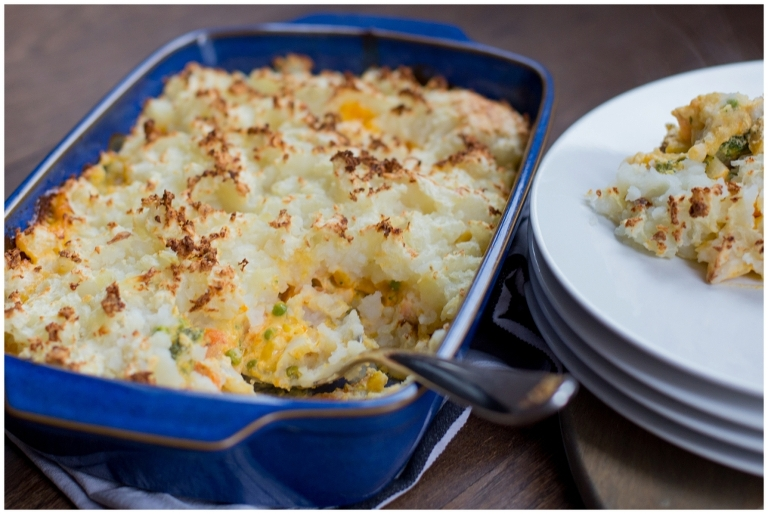 National Pie Week | Gluten Free Fish Pie